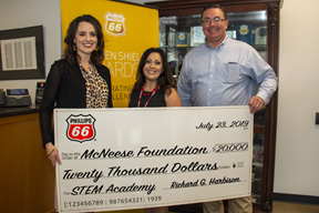 Phillips 66 donates to McNeese University