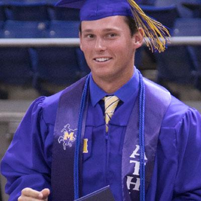 McNeese Student Graduating